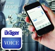 Dräger VOICE app